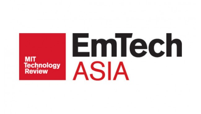 Virtual Electronics at Emtech Asia (organised by MIT)